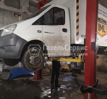 Осмотр и ремонт Газели на автоподъемнике