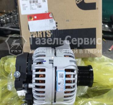 Установка нового генератора на Валдай двигатель Cummins 3.8