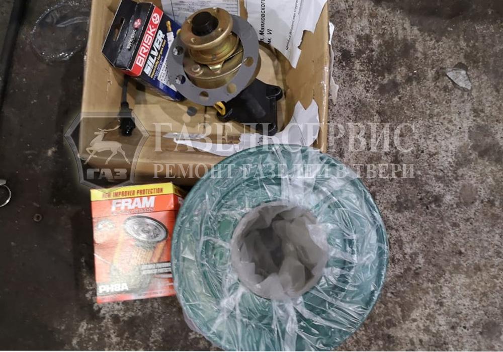Замена муфты включения вентилятора Газель 2705