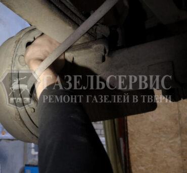 Подводка колодок на Газель после замены
